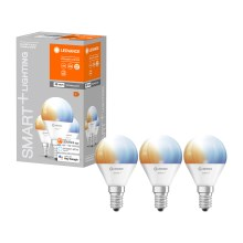 SET 3x LED-Dimmbirne SMART+ E14/5W/230V 2700K-6500K - Ledvance