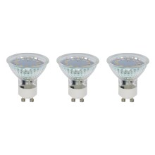SET 3x LED Glühbirne GU10/3W - Briloner
