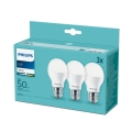 Set 3x LED Glühbirne Philips E27/7W/230V 3000K