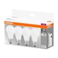 SET 4x LED Glühbirne A60 E27/9W/230V 2700K - Osram
