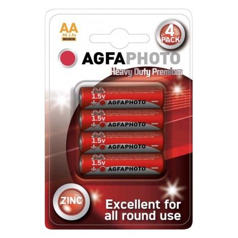 Soligth AP-R06-4S - 4 ks Zinkbatterien AA 1,5V