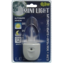 Steckdosenlampe MINI-LIGHT (blaues Licht)