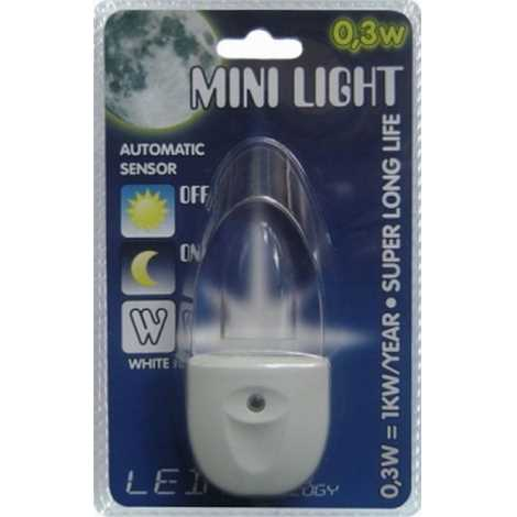 steckdosenlampe mini light blaues licht. Black Bedroom Furniture Sets. Home Design Ideas