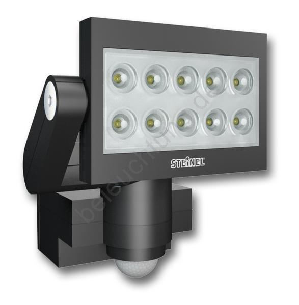 steinel 005672 led reflektor mit sensor xled 10 led 30w. Black Bedroom Furniture Sets. Home Design Ideas