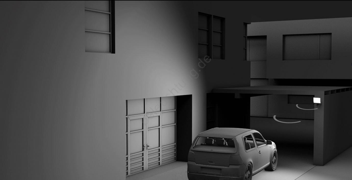 steinel 030049 led strahler mit sensor xled home 2 xl led 20w 230v. Black Bedroom Furniture Sets. Home Design Ideas