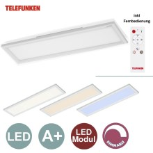 Telefunken by Briloner - LED Dimmbarer Panel 1xLED/18W/230V + Fernbedienung