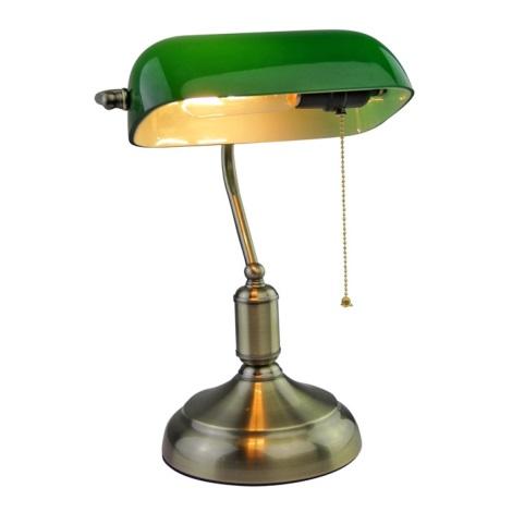 Tischlampe BANKER 1xE27/60W/230V
