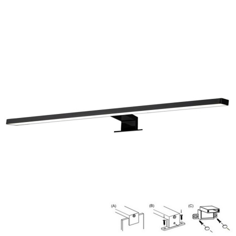 Top Light GILA C XL - LED Badezimmerspiegelbeleuchtung LED/8W/230V IP44