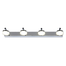 TOP LIGHT - LED Badezimmerwandleuchte HUDSON 4xLED/5W/230V