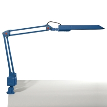 Top Light - Tischlampe OFFICE 1x2G7/11W/230V blau