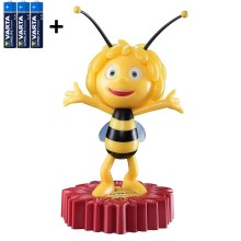 Varta 15635 - LED Kinder Nachtlämpchen MAYA THE BEE LED/3xAA