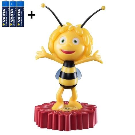 Varta 15635 - LED Kinder Nachtlämpchen MAYA THE BEE LED/3xAA