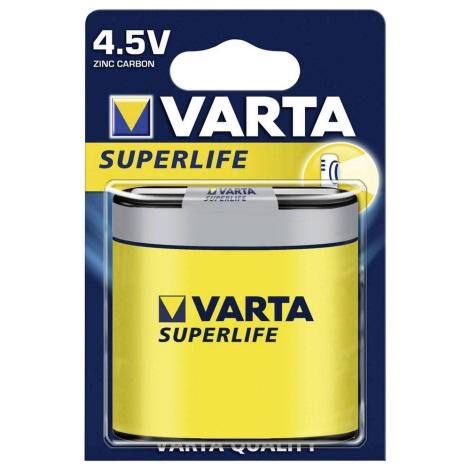 Varta 2012 - 1 St Zink-Kohle-Batterie SUPERLIFE 4,5V