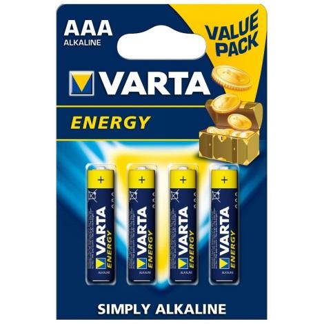 Varta 4103 - 4 St Alkalibatterie ENERGY AAA 1,5V