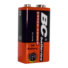 Zink-chlorid Batterie EXTRA POWER 9V